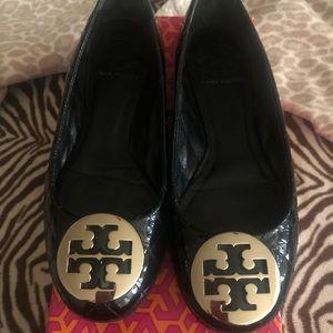 Tory Burch Quinn ballerina patent leather flats ❤️